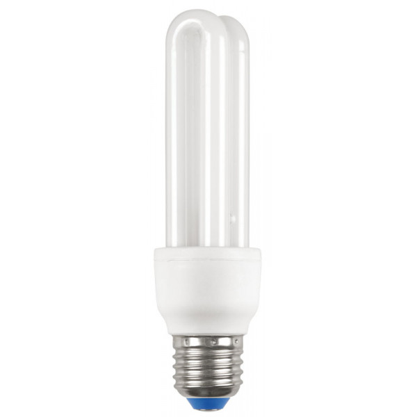 Лампа КЭЛP-2U Е27 15Вт 2700К IEK-eco