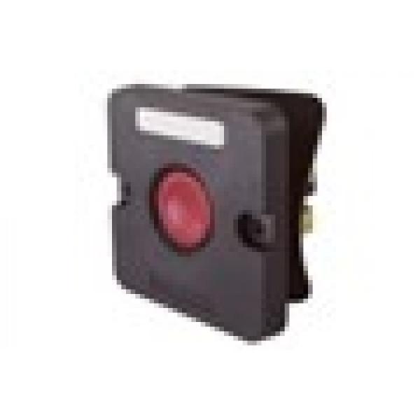 Пост кнопочный ПКЕ 122-1 красный IP54 TDM